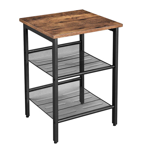Shop hawkinswoodshop.com for solid wood & metal modern, traditional, contemporary, industrial, custom, rustic, and farmhouse furniture including our Ryan 2-Tier Shelving Industrial Nightstand End Table.  Ask about our free nationwide delivery service.