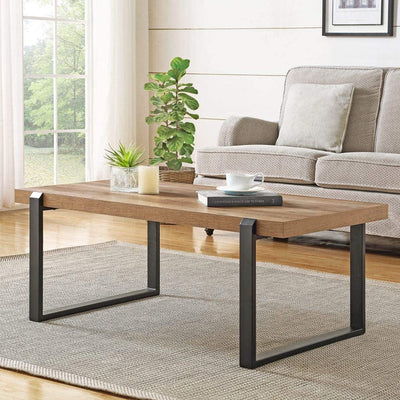 Enjoy fast, free nationwide shipping!  Owned by a husband and wife team of high-school music teachers, HawkinsWoodshop.com is your one stop shop for affordable furniture.  Shop HawkinsWoodshop.com for solid wood & metal modern, traditional, contemporary, industrial, custom, rustic, and farmhouse furniture including our Oak Rustic Rectangle Coffee Table.