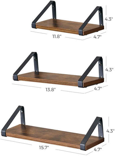 Enjoy fast, free nationwide shipping!  Family owned and operated, HawkinsWoodshop.com is your one stop shop for affordable furniture.  Shop HawkinsWoodshop.com for solid wood & metal modern, traditional, contemporary, industrial, custom, rustic, and farmhouse furniture including our Ryan Floating Display Shelf Set.