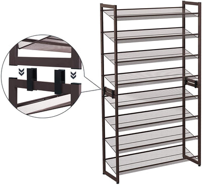 Enjoy fast, free nationwide shipping!  Family owned and operated, HawkinsWoodshop.com is your one stop shop for affordable furniture.  Shop HawkinsWoodshop.com for solid wood & metal modern, traditional, contemporary, industrial, custom, rustic, and farmhouse furniture including our 8-Tier Adjustable Shoe Organizer.