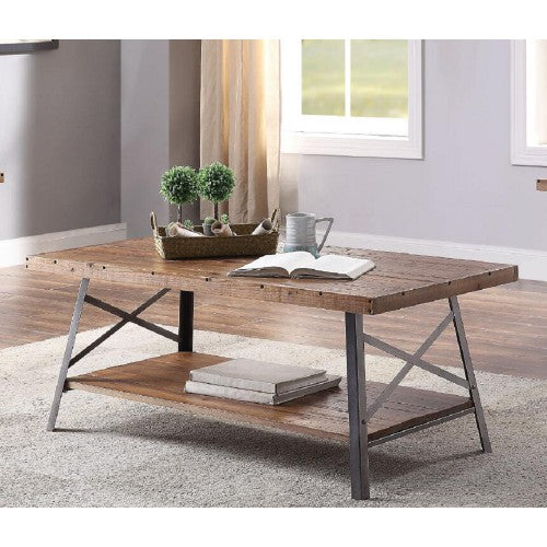 Shop hawkinswoodshop.com for discounted solid wood & metal modern, traditional, contemporary, custom & farmhouse furniture including our Raulph Industrial Farmhouse Coffee Table. Ask about our free nationwide freight delivery or assembly services today.