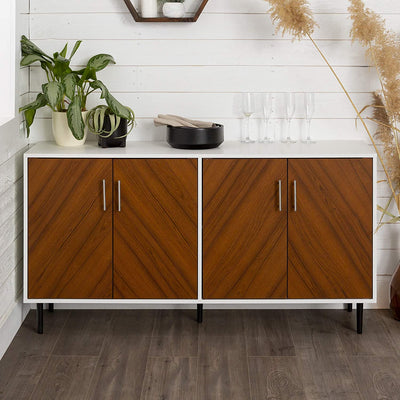 Enjoy fast, free nationwide shipping!  Family owned and operated, HawkinsWoodshop.com is your one stop shop for affordable furniture.  Shop HawkinsWoodshop.com for solid wood & metal modern, traditional, contemporary, industrial, custom, rustic, and farmhouse furniture including our Margaret Mid Century Modern Double Door Buffet TV Stand Console Cabinet.