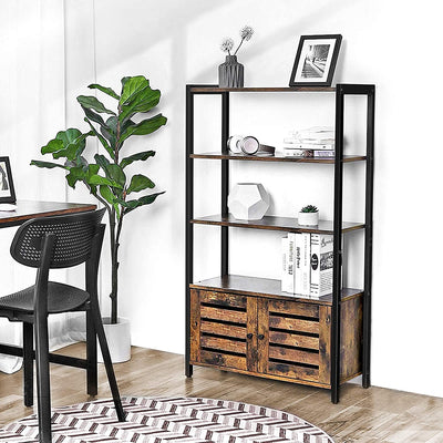 Enjoy fast, free nationwide shipping!  Family owned and operated, HawkinsWoodshop.com is your one stop shop for affordable furniture.  Shop HawkinsWoodshop.com for solid wood & metal modern, traditional, contemporary, industrial, custom, rustic, and farmhouse furniture including our Ryan Double Shutter Doors Cabinet Bookcase.
