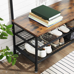 Shop hawkinswoodshop.com for solid wood & metal modern, traditional, contemporary, industrial, custom, rustic, and farmhouse furniture including our Large Ryan Metal Pipe & Wood Hall Tree.  Ask about our free nationwide delivery service.