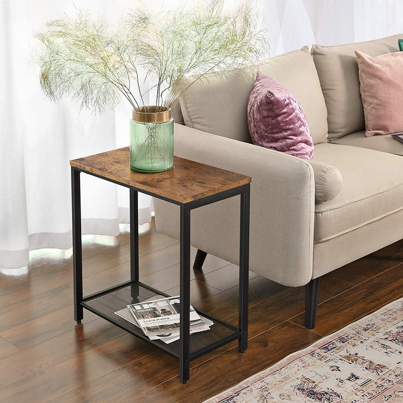 Enjoy fast, free nationwide shipping!  Family owned and operated, HawkinsWoodshop.com is your one stop shop for affordable furniture.  Shop HawkinsWoodshop.com for solid wood & metal modern, traditional, contemporary, industrial, custom, rustic, and farmhouse furniture including our Ryan Mesh Shelf End Table.