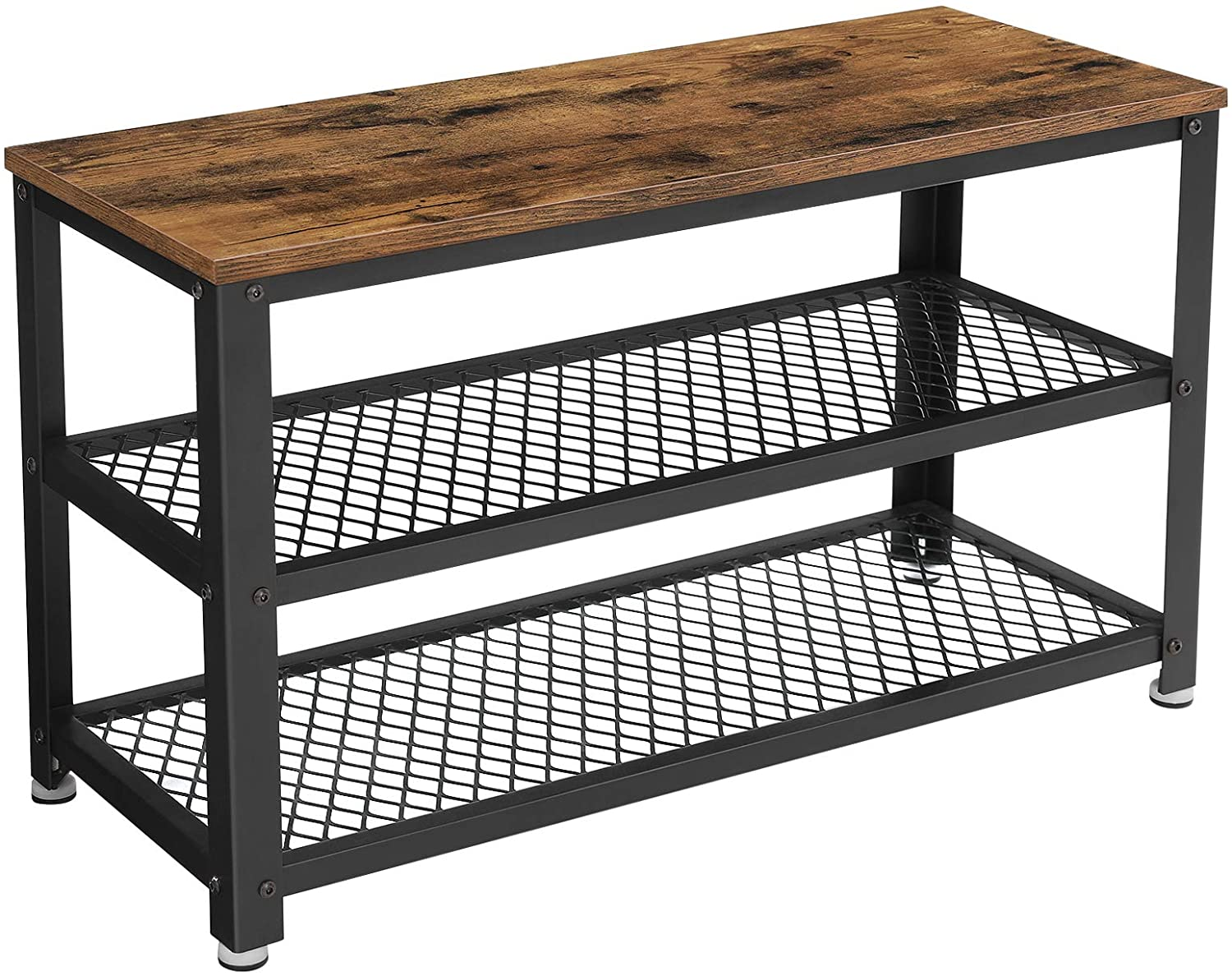 Enjoy fast, free nationwide shipping!  Family owned and operated, HawkinsWoodshop.com is your one stop shop for affordable furniture.  Shop HawkinsWoodshop.com for solid wood & metal modern, traditional, contemporary, industrial, custom, rustic, and farmhouse furniture including our Industrial Shoe Bench 3-Tier Entryway Organizer.