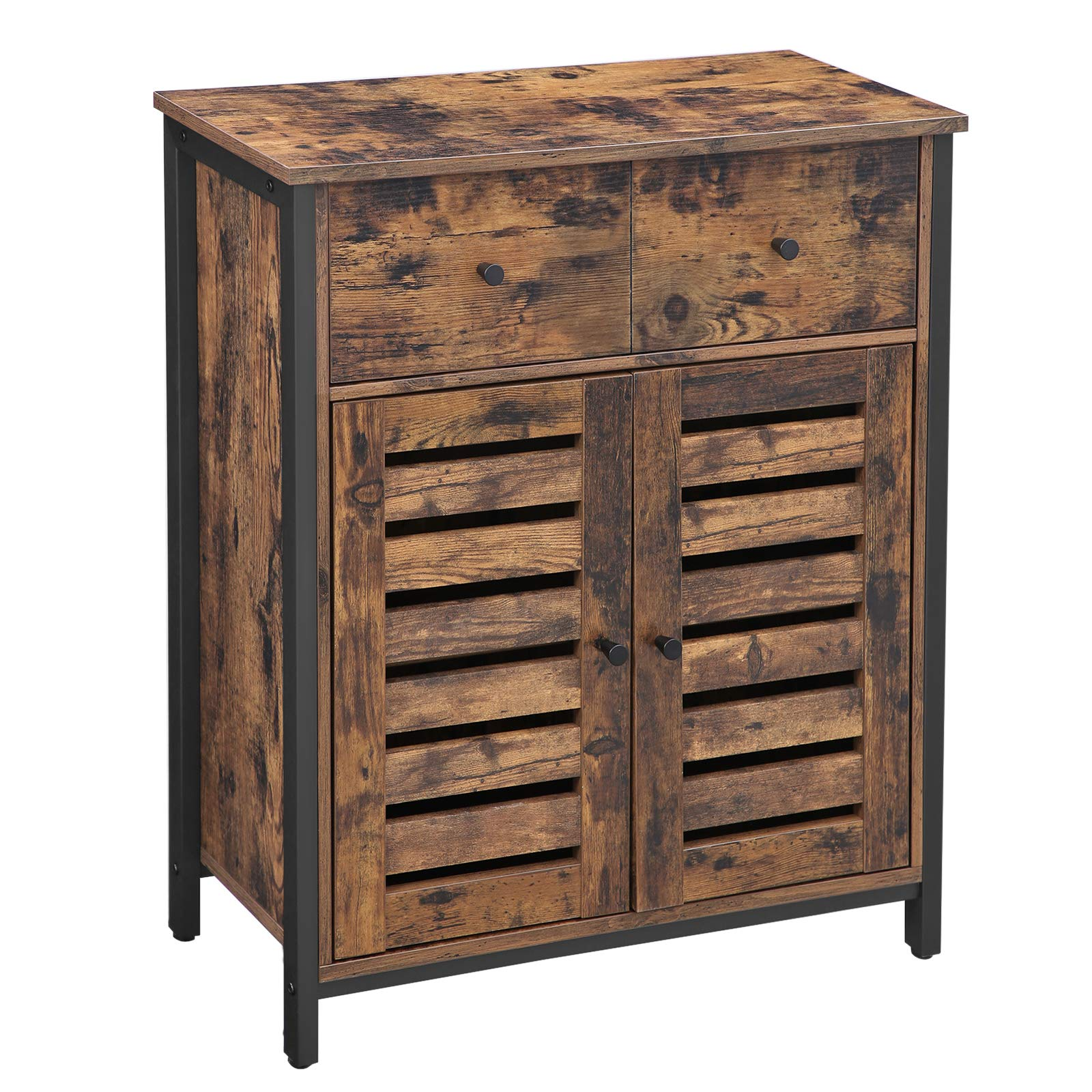 Enjoy fast, free nationwide shipping!  Owned by a husband and wife team of high-school music teachers, HawkinsWoodshop.com is your one stop shop for affordable furniture.  Shop HawkinsWoodshop.com for solid wood & metal modern, traditional, contemporary, industrial, custom, rustic, and farmhouse furniture including our Rustic Brown and Black Bathroom Cabinet, Kitchen Storage Cabinet.