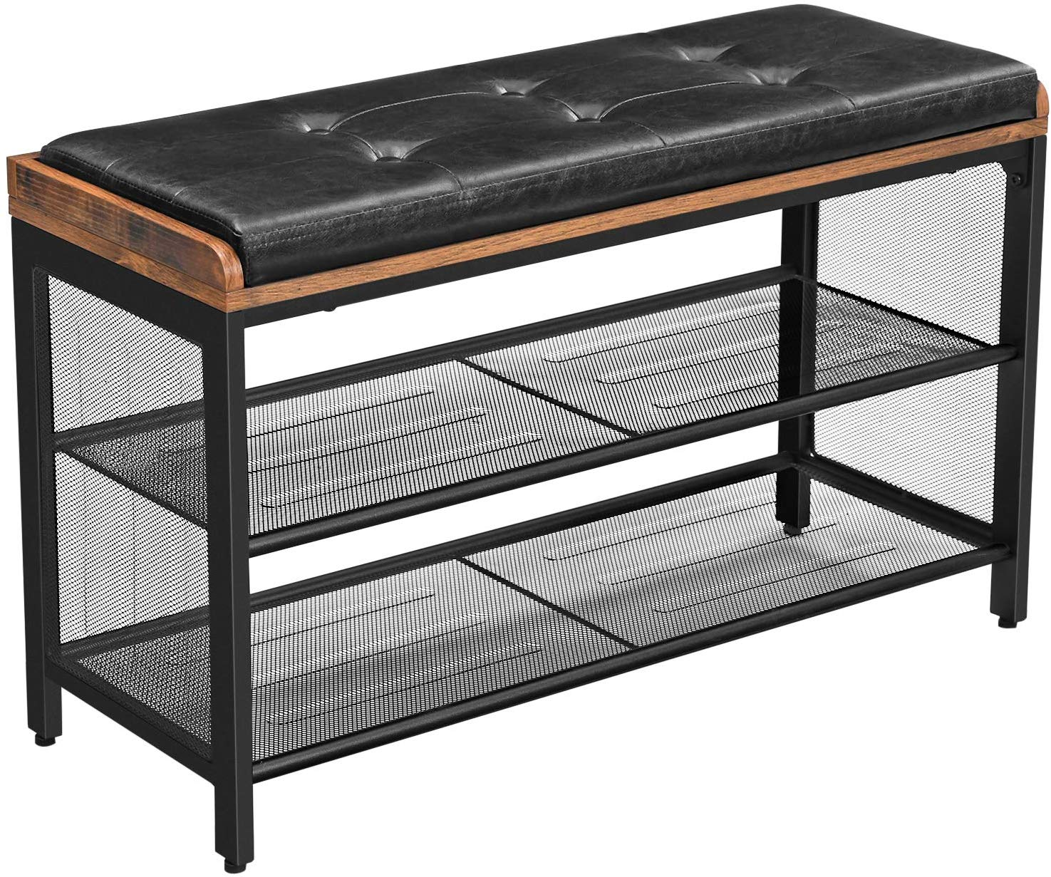 Shop hawkinswoodshop.com for discounted solid wood & metal modern, traditional, contemporary, custom & farmhouse furniture including our Industrial Padded Shoe Entryway Bench w/ Metal Shelving. Ask about our free nationwide freight delivery or assembly services today.