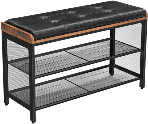 Shop hawkinswoodshop.com for solid wood & metal modern, traditional, contemporary, industrial, custom, rustic, and farmhouse furniture including our Industrial Padded Shoe Entryway Bench w/ Metal Shelving.  Ask about our free nationwide delivery service.