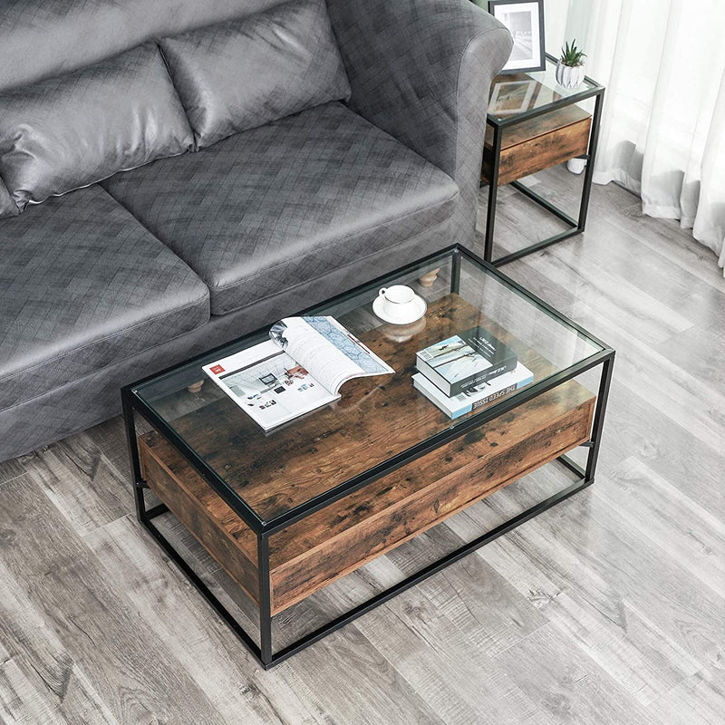 Enjoy fast, free nationwide shipping!  Owned by a husband and wife team of high-school music teachers, HawkinsWoodshop.com is your one stop shop for affordable furniture.  Shop HawkinsWoodshop.com for solid wood & metal modern, traditional, contemporary, industrial, custom, rustic, and farmhouse furniture including our Ryan Glass-Top Coffee Table.