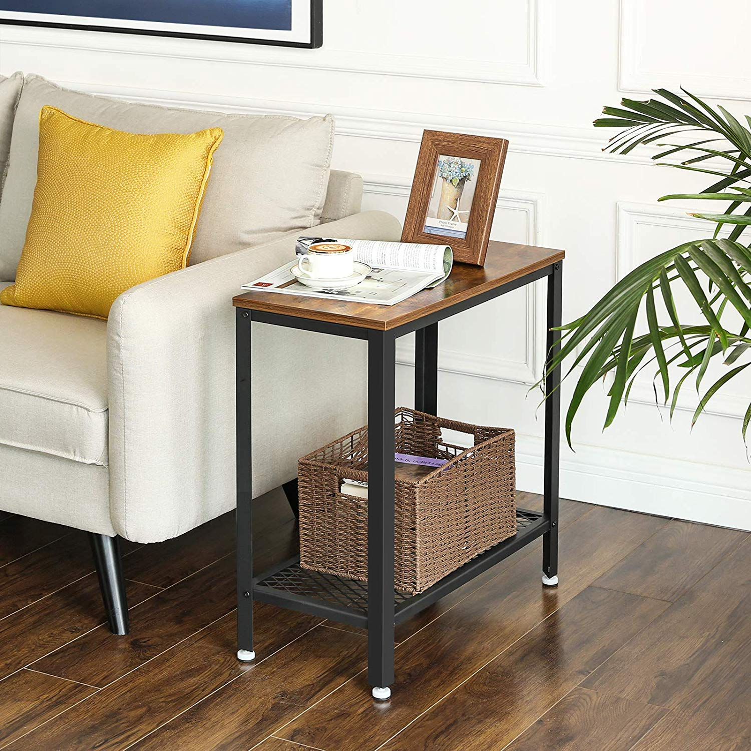 Enjoy fast, free nationwide shipping!  Family owned and operated, HawkinsWoodshop.com is your one stop shop for affordable furniture.  Shop HawkinsWoodshop.com for solid wood & metal modern, traditional, contemporary, industrial, custom, rustic, and farmhouse furniture including our Ryan Industrial Side Table Nightstand.