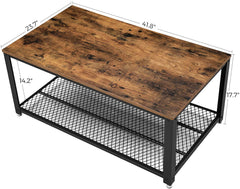 Shop hawkinswoodshop.com for solid wood & metal modern, traditional, contemporary, industrial, custom, rustic, and farmhouse furniture including our Ryan Industrial Coffee Table w/ Mesh Storage Shelf.  Ask about our free nationwide delivery service.