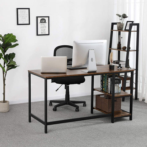 Shop hawkinswoodshop.com for discounted solid wood & metal modern, traditional, contemporary, industrial, custom & farmhouse furniture including our Ryan Industrial Computer Desk w/ Adjustable Left or Right Shelves.  Ask about our free nationwide freight delivery and low cost assembly services.