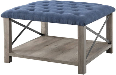 Enjoy fast, free nationwide shipping!  Family owned and operated, HawkinsWoodshop.com is your one stop shop for affordable furniture.  Shop HawkinsWoodshop.com for solid wood & metal modern, traditional, contemporary, industrial, custom, rustic, and farmhouse furniture including our Tufted Upholstered Fabric Storage Ottoman.