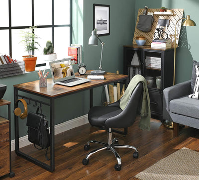 Enjoy fast, free nationwide shipping!  Family owned and operated, HawkinsWoodshop.com is your one stop shop for affordable furniture.  Shop HawkinsWoodshop.com for solid wood & metal modern, traditional, contemporary, industrial, custom, rustic, and farmhouse furniture including our Ryan Home Office Desks with 8 Hooks.