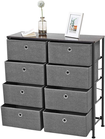 Enjoy fast, free nationwide shipping!  Family owned and operated, HawkinsWoodshop.com is your one stop shop for affordable furniture.  Shop HawkinsWoodshop.com for solid wood & metal modern, traditional, contemporary, industrial, custom, rustic, and farmhouse furniture including our 4 Tier Wide Drawer Gray Dresser.