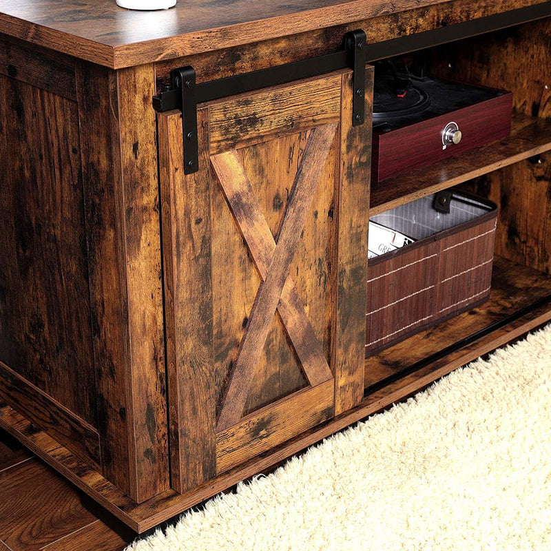 Enjoy fast, free nationwide shipping!  Family owned and operated, HawkinsWoodshop.com is your one stop shop for affordable furniture.  Shop HawkinsWoodshop.com for solid wood & metal modern, traditional, contemporary, industrial, custom, rustic, and farmhouse furniture including our Ryan Rustic Sliding Barn Door Console TV Stand.