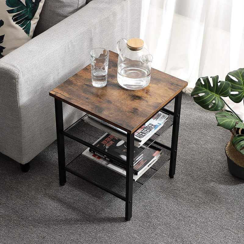 Shop hawkinswoodshop.com for discounted solid wood & metal modern, traditional, contemporary, custom & farmhouse furniture including our Ryan 2-Tier Shelving Industrial Nightstand End Table. Ask about our free nationwide freight delivery or assembly services today.