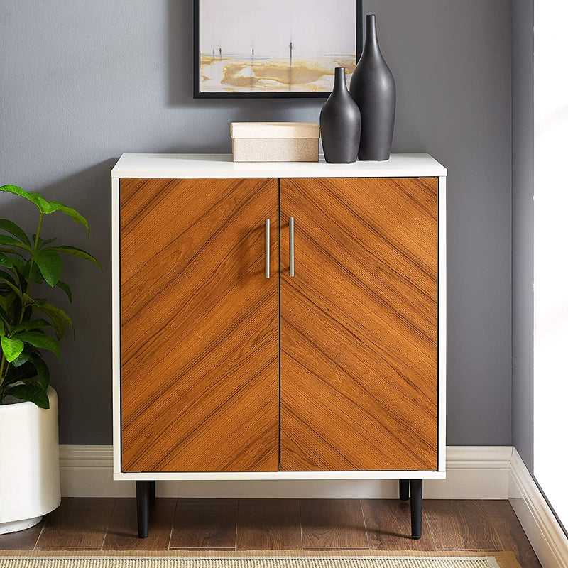 "Enjoy fast, free nationwide shipping!  Family owned and operated, HawkinsWoodshop.com is your one stop shop for affordable furniture.  Shop HawkinsWoodshop.com for solid wood & metal modern, traditional, contemporary, industrial, custom, rustic, and farmhouse furniture including our Margaret 28"" Mid Century Modern Double Door Accent Console."