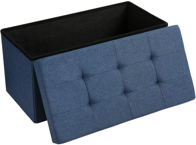 Enjoy fast, free nationwide shipping!  Family owned and operated, HawkinsWoodshop.com is your one stop shop for affordable furniture.  Shop HawkinsWoodshop.com for solid wood & metal modern, traditional, contemporary, industrial, custom, rustic, and farmhouse furniture including our Navy Blue Foldable Storage Ottoman.