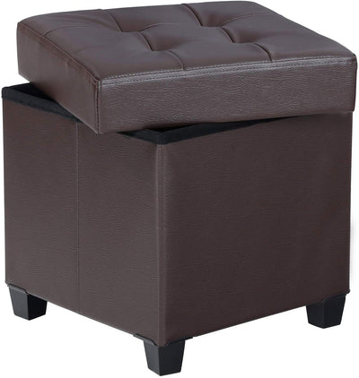 Enjoy fast, free nationwide shipping!  Family owned and operated, HawkinsWoodshop.com is your one stop shop for affordable furniture.  Shop HawkinsWoodshop.com for solid wood & metal modern, traditional, contemporary, industrial, custom, rustic, and farmhouse furniture including our Brown Storage Cube Ottoman Foot Stool.