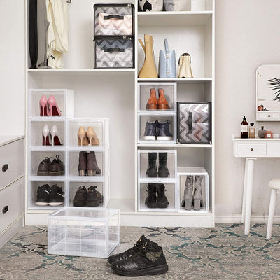 Enjoy fast, free nationwide shipping!  Family owned and operated, HawkinsWoodshop.com is your one stop shop for affordable furniture.  Shop HawkinsWoodshop.com for solid wood & metal modern, traditional, contemporary, industrial, custom, rustic, and farmhouse furniture including our Stackable Plastic Shoe Storage Organizers.
