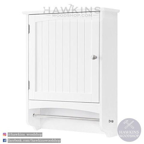 Shop hawkinswoodshop.com for discounted solid wood & metal modern, traditional, contemporary, custom & farmhouse furniture including our Wall Cabinet, Wooden Bathroom Cabinet, Hanging Storage Cabinet with Towel Rod and Adjustable Shelf, Country Style Medicine Cupboard. Ask about our free nationwide freight delivery and low cost assembly services.