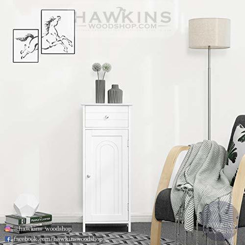Shop hawkinswoodshop.com for discounted solid wood & metal modern, traditional, contemporary, custom & farmhouse furniture including our White Floor Cabinet Storage with Drawer and Adjustable Shelf. Ask about our free nationwide freight delivery and low cost assembly services.