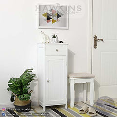 Shop hawkinswoodshop.com for discounted solid wood & metal modern, traditional, contemporary, industrial, custom & farmhouse furniture including our White Floor Cabinet Storage with Drawer and Adjustable Shelf.  Ask about our free nationwide freight delivery and low cost assembly services.