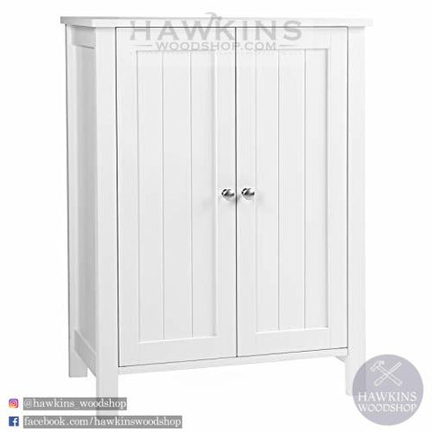Shop hawkinswoodshop.com for discounted solid wood & metal modern, traditional, contemporary, custom & farmhouse furniture including our Freestanding Bathroom Cabinet Storage Cupboard Unit with 2 Doors and 2 Adjustable Shelves White. Ask about our free nationwide freight delivery and low cost assembly services.