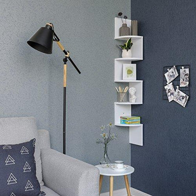 Shop hawkinswoodshop.com for discounted solid wood & metal modern, traditional, contemporary, custom & farmhouse furniture including our Corner Shelf, 5-tier Floating Wall Shelf With Zigzag Design, Bookshelf, White, LBC20WT.  Ask about our free delivery & assembly collections today!