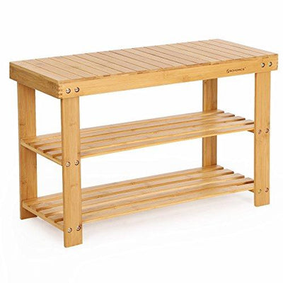 Enjoy fast, free nationwide shipping!  Family owned and operated, HawkinsWoodshop.com is your one stop shop for affordable furniture.  Shop HawkinsWoodshop.com for solid wood & metal modern, traditional, contemporary, industrial, custom, rustic, and farmhouse furniture including our Bamboo 3-Tier Shoe Bench.