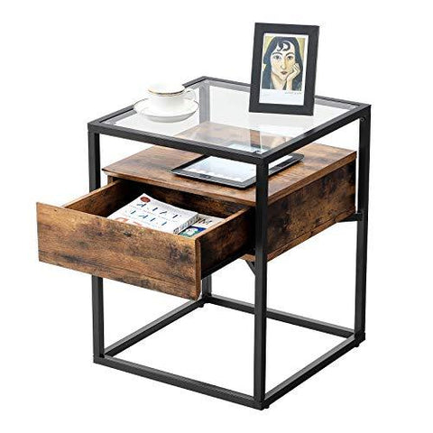 Shop hawkinswoodshop.com for solid wood & metal modern, traditional, contemporary, industrial, custom & farmhouse furniture including our Glass table with drawer.  Ask about our free nationwide freight delivery and low cost white glove assembly services.