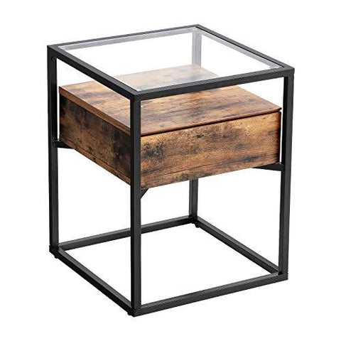 Shop hawkinswoodshop.com for solid wood & metal modern, traditional, contemporary, industrial, custom, rustic, and farmhouse furniture including our Glass table with drawer.  Ask about our free nationwide delivery service.