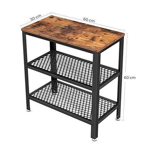 Shop hawkinswoodshop.com for discounted solid wood & metal modern, traditional, contemporary, custom & farmhouse furniture including our Side Table, End Table, Decorative Table with 2 Mesh Shelves Narrow Industrial Design with Free Shipping. Ask about our free nationwide freight delivery and low cost assembly services.