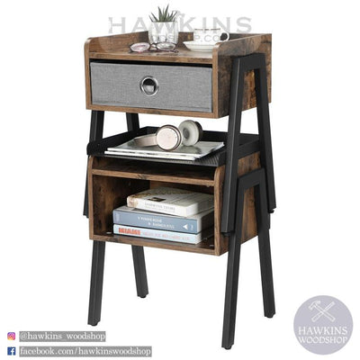 Enjoy fast, free nationwide shipping!  Family owned and operated, HawkinsWoodshop.com is your one stop shop for affordable furniture.  Shop HawkinsWoodshop.com for solid wood & metal modern, traditional, contemporary, industrial, custom, rustic, and farmhouse furniture including our Nightstand.