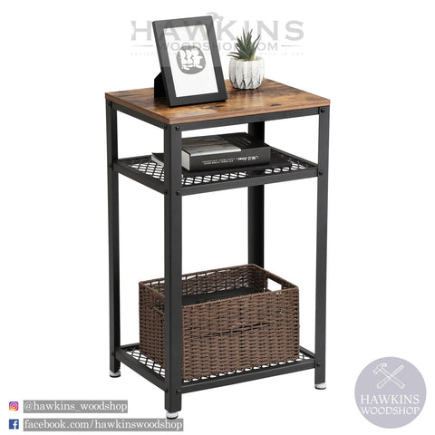 Shop hawkinswoodshop.com for discounted solid wood & metal modern, traditional, contemporary, industrial, custom & farmhouse furniture including our Vintage Side Table.  Ask about our free nationwide freight delivery and low cost assembly services.