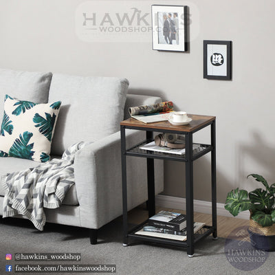 Enjoy fast, free nationwide shipping!  Family owned and operated, HawkinsWoodshop.com is your one stop shop for affordable furniture.  Shop HawkinsWoodshop.com for solid wood & metal modern, traditional, contemporary, industrial, custom, rustic, and farmhouse furniture including our Vintage Side Table.