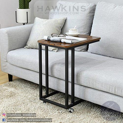 Shop hawkinswoodshop.com for discounted solid wood & metal modern, traditional, contemporary, custom & farmhouse furniture including our Mobile Side End Table. Ask about our free nationwide freight delivery and low cost assembly services.