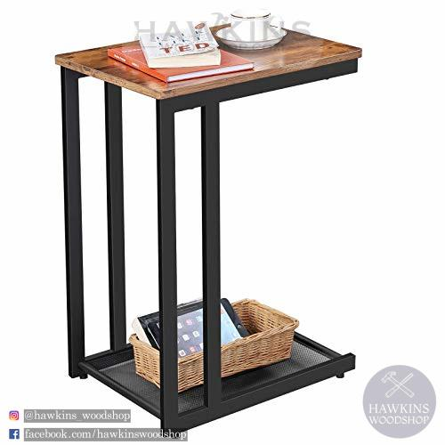 Enjoy fast, free nationwide shipping!  Family owned and operated, HawkinsWoodshop.com is your one stop shop for affordable furniture.  Shop HawkinsWoodshop.com for solid wood & metal modern, traditional, contemporary, industrial, custom, rustic, and farmhouse furniture including our Side, End Table, Nightstand with Mesh Shelf Industrial.