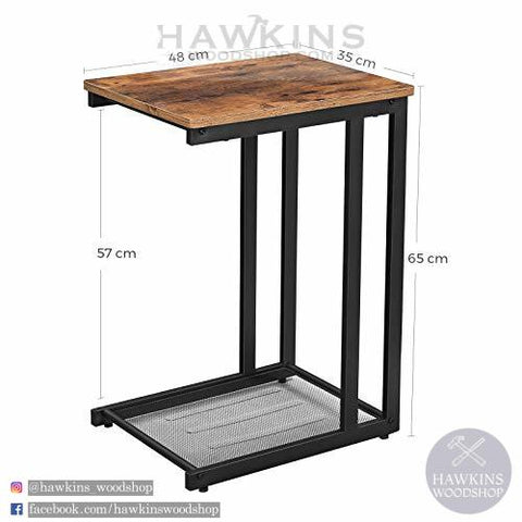 Shop hawkinswoodshop.com for discounted solid wood & metal modern, traditional, contemporary, custom & farmhouse furniture including our Side, End Table, Nightstand with Mesh Shelf Industrial. Ask about our free nationwide freight delivery and low cost assembly services.