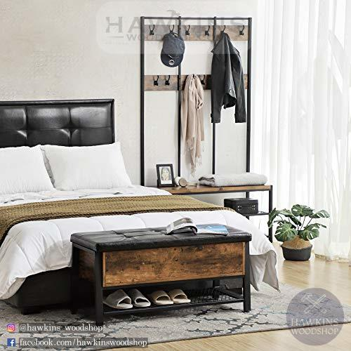Enjoy fast, free nationwide shipping!  Family owned and operated, HawkinsWoodshop.com is your one stop shop for affordable furniture.  Shop HawkinsWoodshop.com for solid wood & metal modern, traditional, contemporary, industrial, custom, rustic, and farmhouse furniture including our Bedstead w/ Storage.