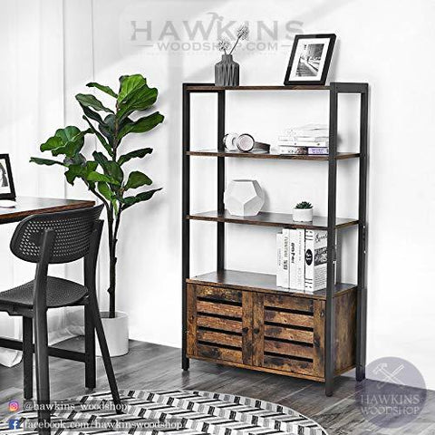 Shop hawkinswoodshop.com for discounted solid wood & metal modern, traditional, contemporary, custom & farmhouse furniture including our Industrial Farmhouse Bookcase Bookshelves. Ask about our free nationwide freight delivery and low cost assembly services.