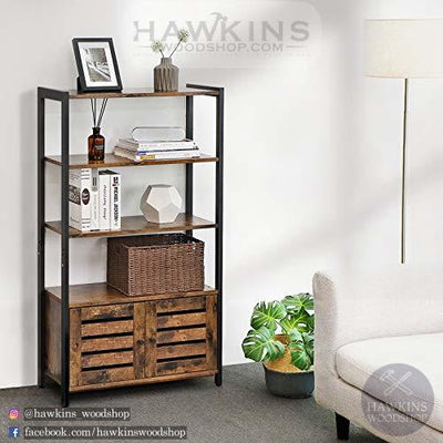 Enjoy fast, free nationwide shipping!  Family owned and operated, HawkinsWoodshop.com is your one stop shop for affordable furniture.  Shop HawkinsWoodshop.com for solid wood & metal modern, traditional, contemporary, industrial, custom, rustic, and farmhouse furniture including our Industrial Farmhouse Bookcase Bookshelves.