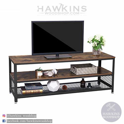 Industrial TV Stand - Hawkins Woodshop