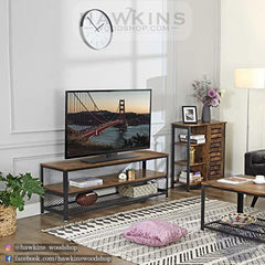 Shop hawkinswoodshop.com for solid wood & metal modern, traditional, contemporary, industrial, custom, rustic, and farmhouse furniture including our Industrial TV Stand.  Ask about our free nationwide delivery service.