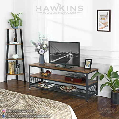 Enjoy fast, free nationwide shipping!  Owned by a husband and wife team of high-school music teachers, HawkinsWoodshop.com is your one stop shop for affordable furniture.  Shop HawkinsWoodshop.com for solid wood & metal modern, traditional, contemporary, industrial, custom, rustic, and farmhouse furniture including our Industrial TV Stand.