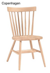 Wood Chairs Hand-Finished to Match Your Order (for outdoor and indoor) - Hawkins Woodshop