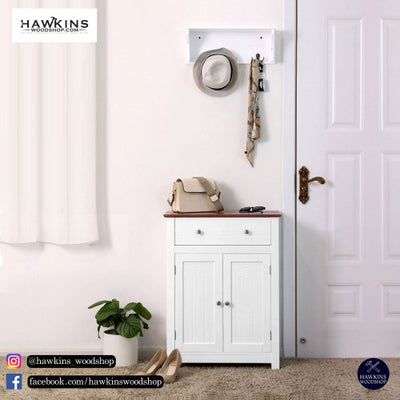 Shop hawkinswoodshop.com for discounted solid wood & metal modern, traditional, contemporary, custom & farmhouse furniture including our Free-Standing Bathroom Storage Cabinet with Drawer and Adjustable Shelves Free-Shipping.  Ask about our free delivery & assembly collections today!