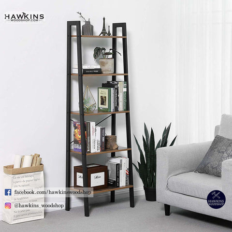 Shop hawkinswoodshop.com for discounted solid wood & metal modern, traditional, contemporary, custom & farmhouse furniture including our Industrial Bookshelf, 5-Tier Ladder Shelf, Bookcase and Storage Rack, Wood Look Accent Furniture with Metal Frame Free Shipping. Ask about our free nationwide freight delivery and low cost assembly services.